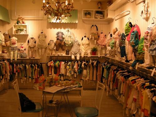最新最时尚的童装店名字大全 最新最时尚的童装店名字大全